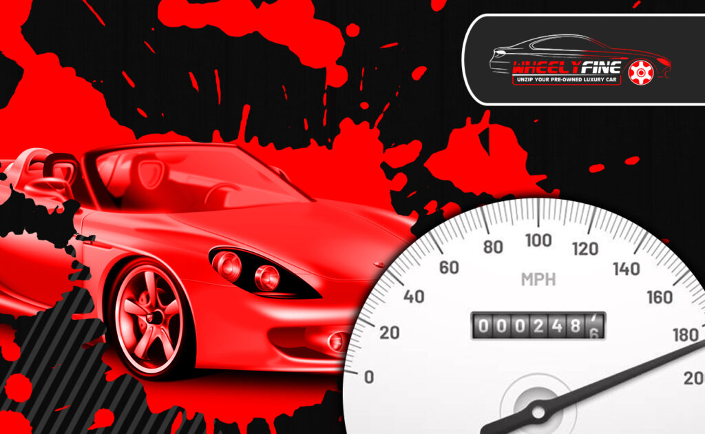 know meter tempering issue in pre-owned luxury car