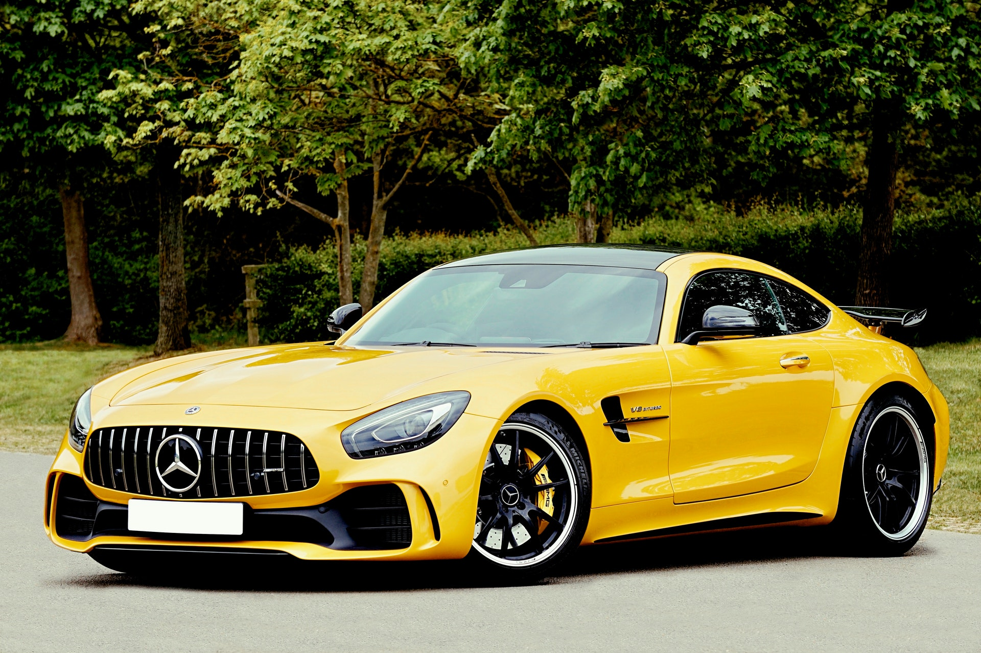used mercedes benz AMG GT